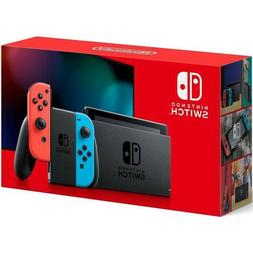 2020 Nintendo Switch with Neon Blue and Neon Red Joy‑Con 3