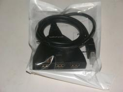 3 port hdmi auto switch with fixed