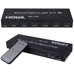 avedio links 2 in 4 Out HDMI 4KX2K Switch Splitter.This hdmi