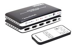 Zettaguard 4K x 2K 4 Port 4 x 1 HDMI Switch with PIP and IR