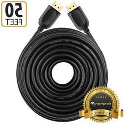 Fosmon 50FT HDMI Gold Plated Cable 1080P for HDTV PS4 3 XBOX