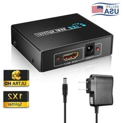 full hd hdmi splitter 1x2 repeater amplifier