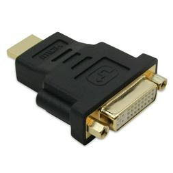 Fosmon Gold Plated HDMI to DVI-I 24+5 Adapter