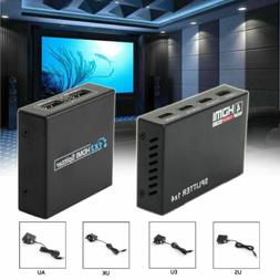 HDMI Amplifier 1X4 1X2 Female Splitter ViewHD Converter 1 IN