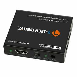 J-Tech Digital 4K 60HZ HDMI Audio Extractor Converter SPDIF