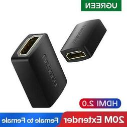 Ugreen Hdmi Female To Female Coupler Extender Adapter 4k Hig