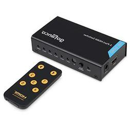 gofanco HDMI Switch 4K, gofanco 5 x 1 Powered HDMI Switcher