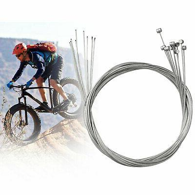 10X Bicycle Cable Steel Front Rear Inner Wire 6.4ft /