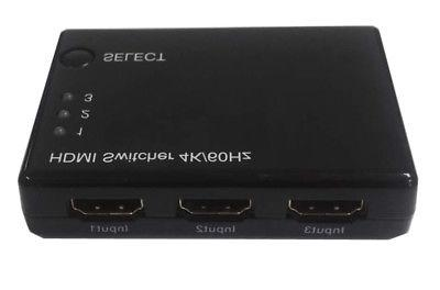 3 in 1 out hdmi switch auto