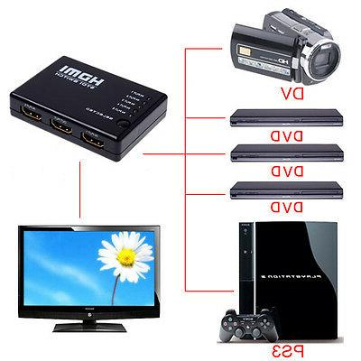 3 HDMI Switcher HDTV PS3