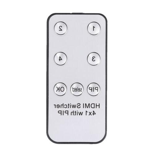 HDMI Switch Port HDMI Function Hub In 1 Remote