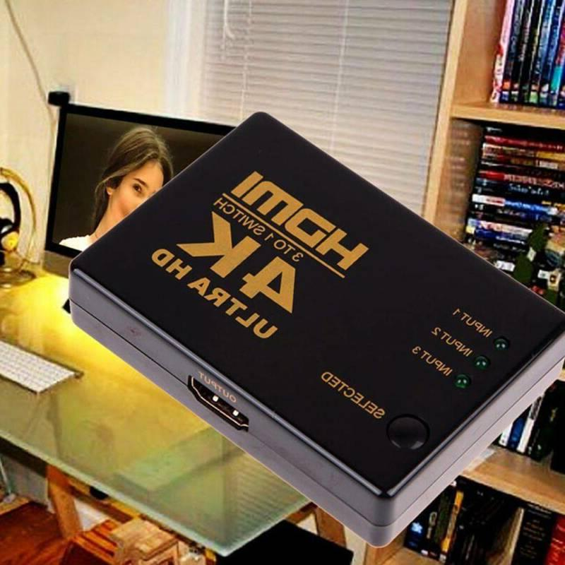 4K*2K In1 HDMI Out Switcher Box for PC 1080P