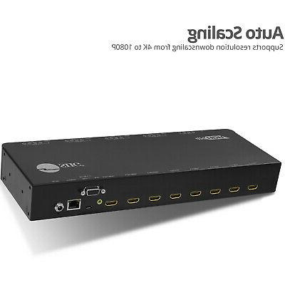 SIIG 4K Matrix Switch with Cloud Control