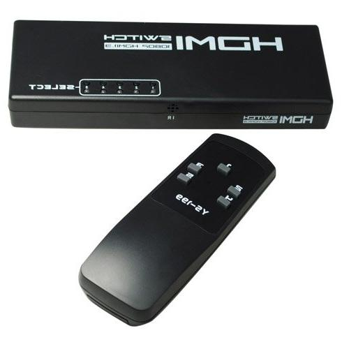 5 1080P HDMI Switch Switcher Splitter for HDTV XBOX360 with IR