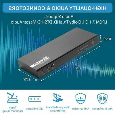 5 Switch Auto 60Hz HDCP 2.2 HDR 10 Dolby with