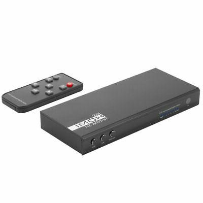 5 HDMI Switch Auto Switcher 4K 60Hz 2.2 HDR 10 with
