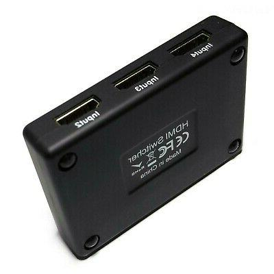 5x1 HDMI Switch Selector Hub with 5-in
