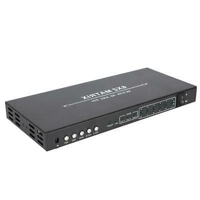 6X2 HDMI 2.0 Matrix 1080P Switch