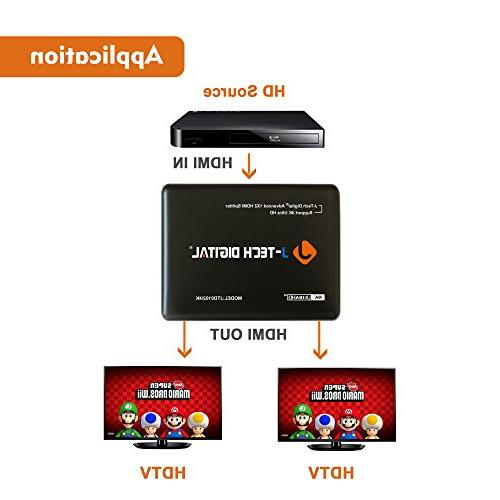 J-Tech Digital Most HDMI Powered Support 3840 and 3D