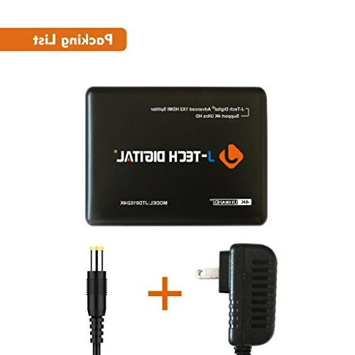 J-Tech JTD0102/4K J-Digital Most Advanced Ports HDMI Support 3840 and 3D