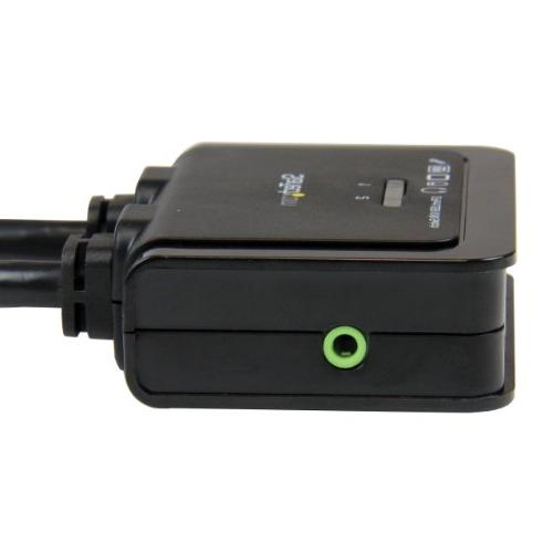 StarTech.com 2 HDMI Cable Switch with Switch - KVM with HDMI - Dual Port Switch