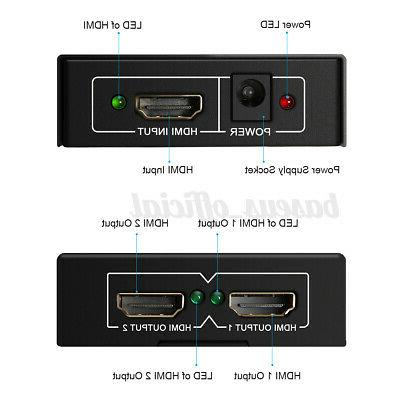 1X2 1080p Switch in