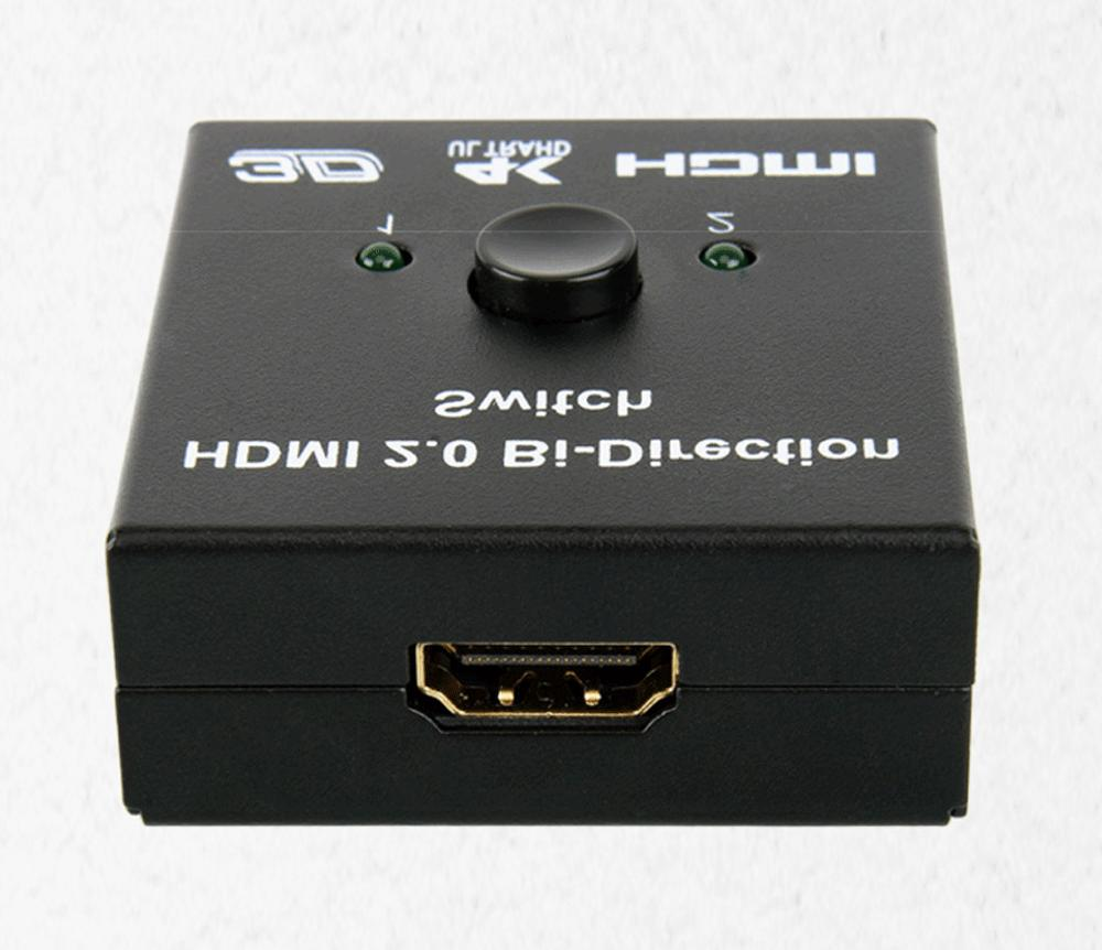 4K Cable Switch Hub 1x2 In Out