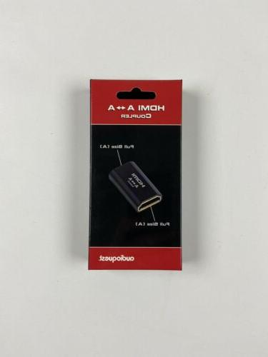 hdmi a a coupler gold plated contacts