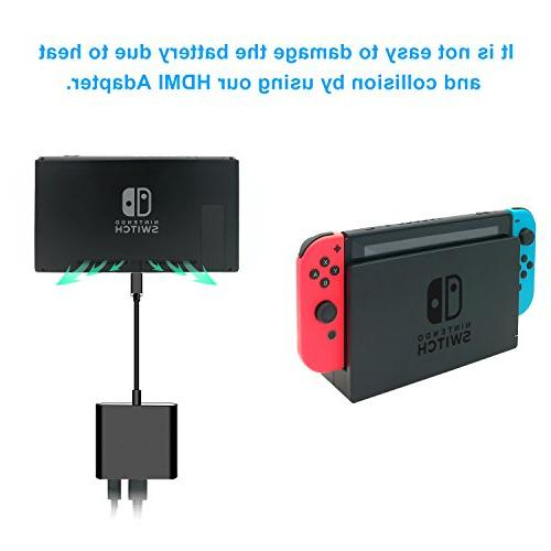 FastSnail Hub Adapter for Switch,