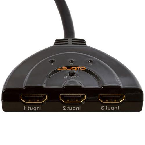 HDMI Switch inputs 1 output