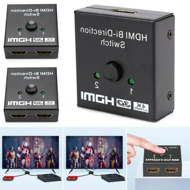 hdmi splitter bi directional switch 1in2 out