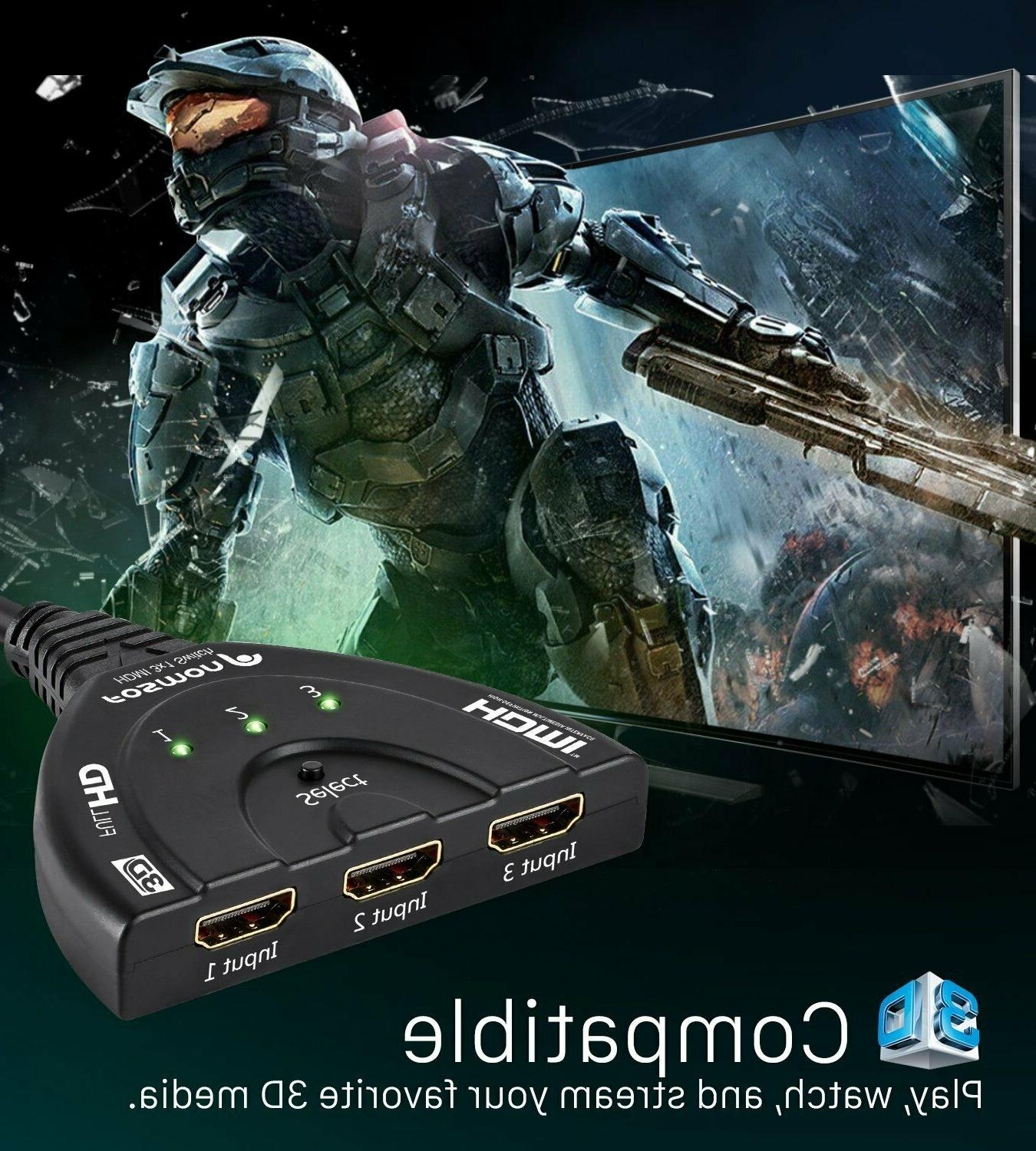HDMI Multiport HDMI External Expander Ultra HD