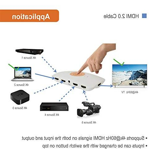 5X1 2.2, HDR, Dolby Vision, YUV remote control auto-switching with Control4 Driver