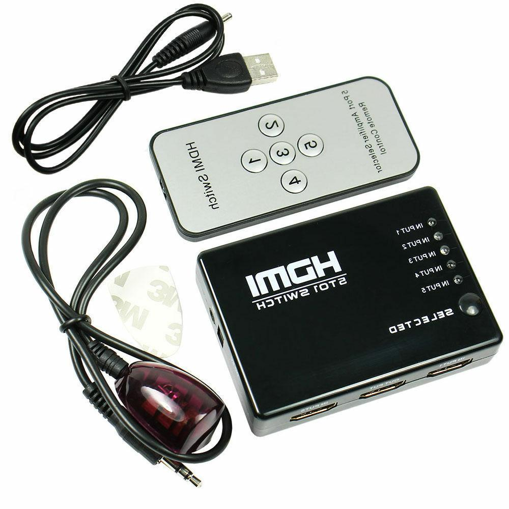 hdmi switch selector switcher splitter