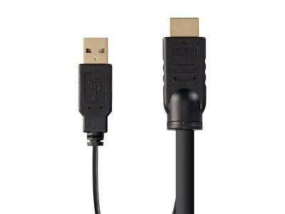 Monoprice Combo Cable - 6ft, For KVM Switches Switch