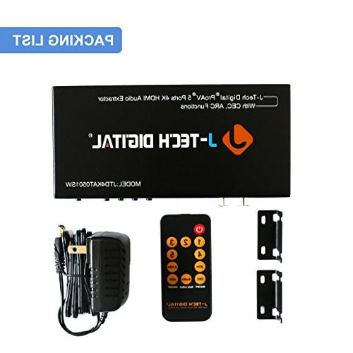 J-Tech Digital 5 HDMIMHL SPDIF3.5mm Jack Stereo with Ultra
