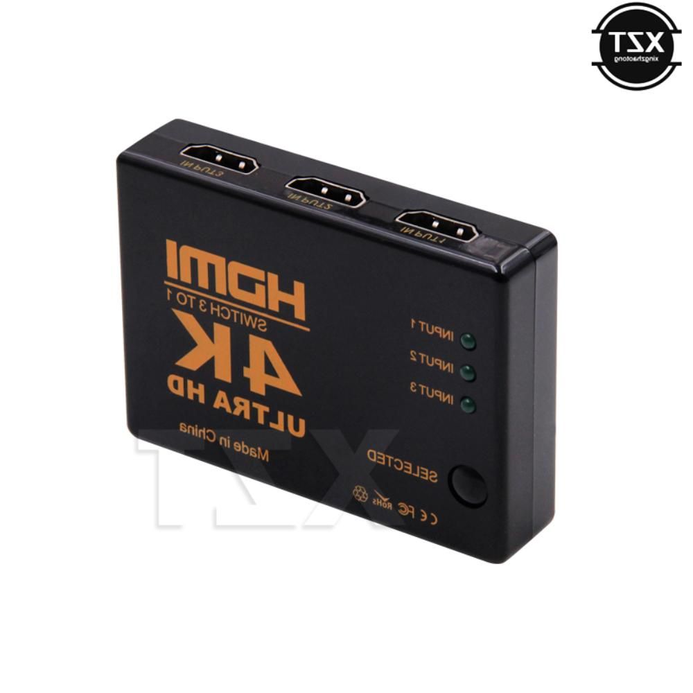 HDTV 3 Video Switcher HDMI Switch Selector Ultra HD