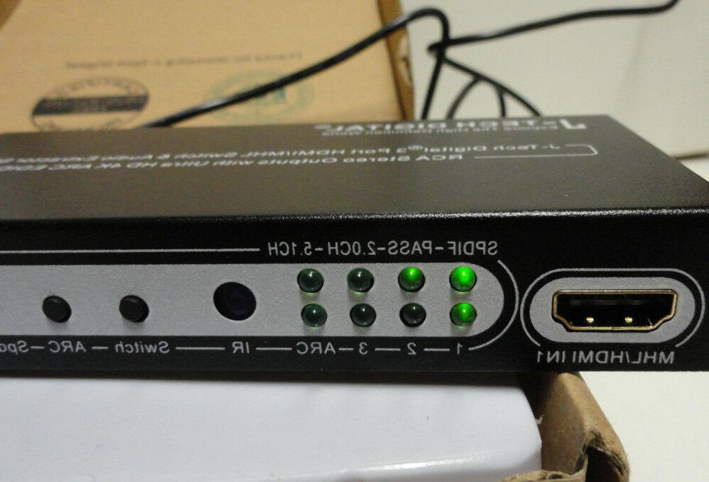 J-Tech HDMI/MHL Switch Extractor