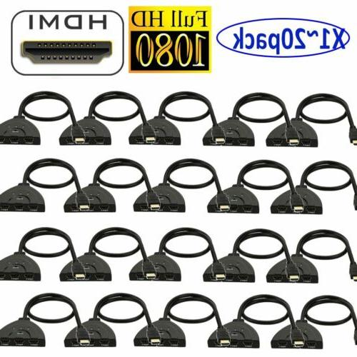 lot 20 hdmi switch 3 in 1