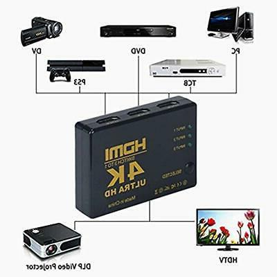 Mini 3 Ports Intelligent 4K HDMI ""