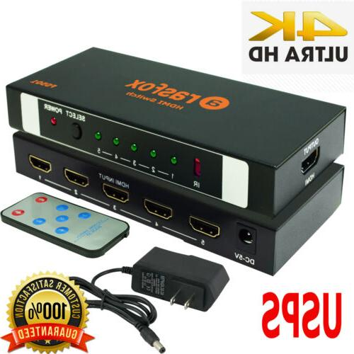powered hdmi switch switcher selector