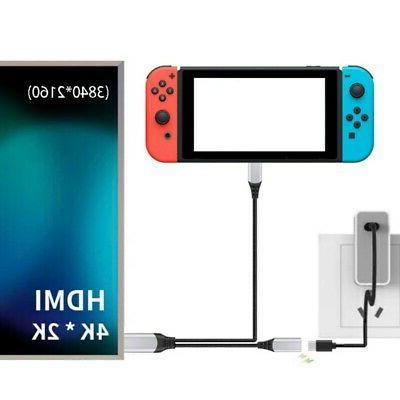 suitable for nintendo switch hdmi video transmission