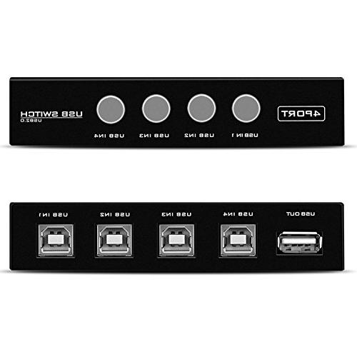 TNP 2.0 Sharing - Share Adapter Adopter Selector for Computer Scanner Camera and with interface