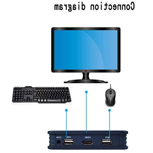 2 Switch Switcher Com Out Keyboard Mouse Driver Desktop Support