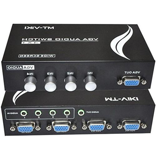 vga audio switch svga switcher