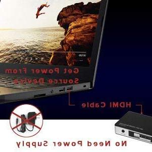 AVBOX 2K HDMI Switch 1 Out, High Speed HDMI Box with IR Remote Control,No 3D and 1.4 Compliant