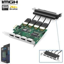 pci 4x4 hdmi matrix switch for home