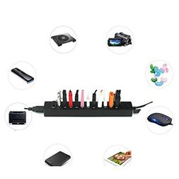 Xindda New 12 Ports High Speed 2-ON/Off Sharing Switch USB2.