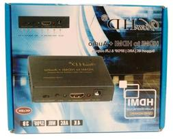 ViewHD HDMI TO HDMI + Audio 4k ARC SPDIF 3D L/R Auto Extract